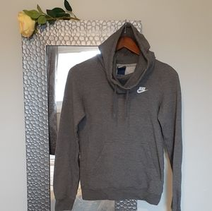 Nike Funnel Neck Pullover Hoodie- SZ XS